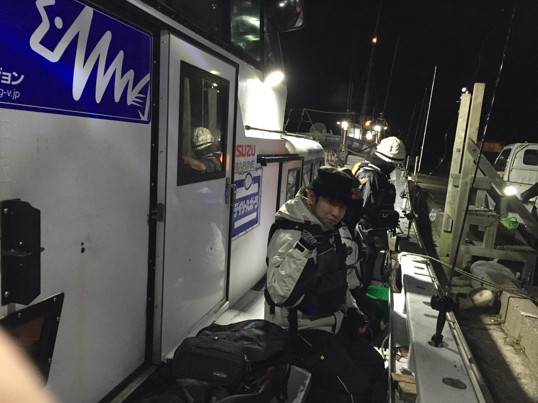 ライトタックルで攻める冬のライトヒラメ@片貝旧港 第1二三丸