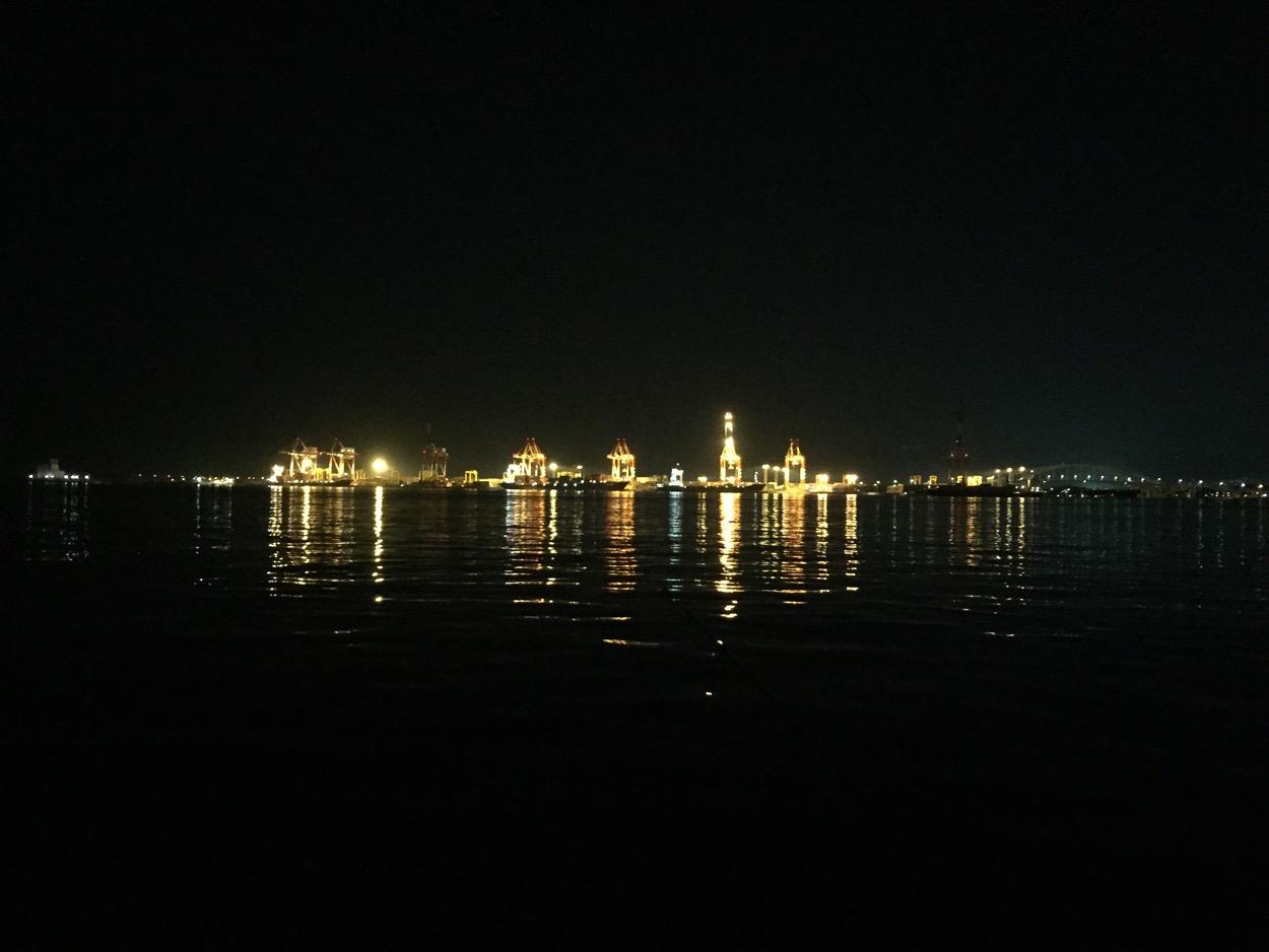 南港コスモスクエアのシーサイドコスモで、再びガシラ釣り
