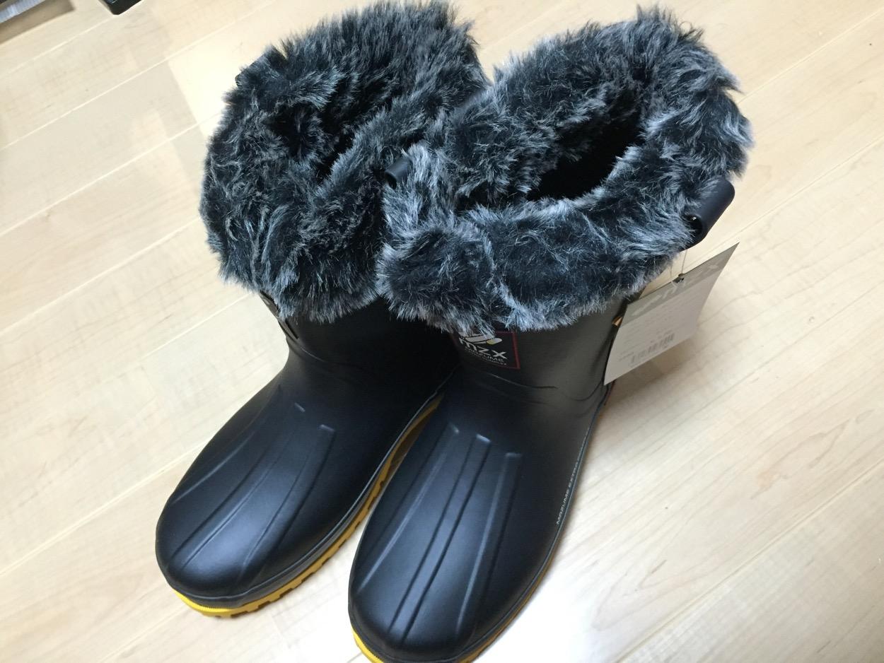 マズメ(mazume)の防寒ブーツがとても暖かい