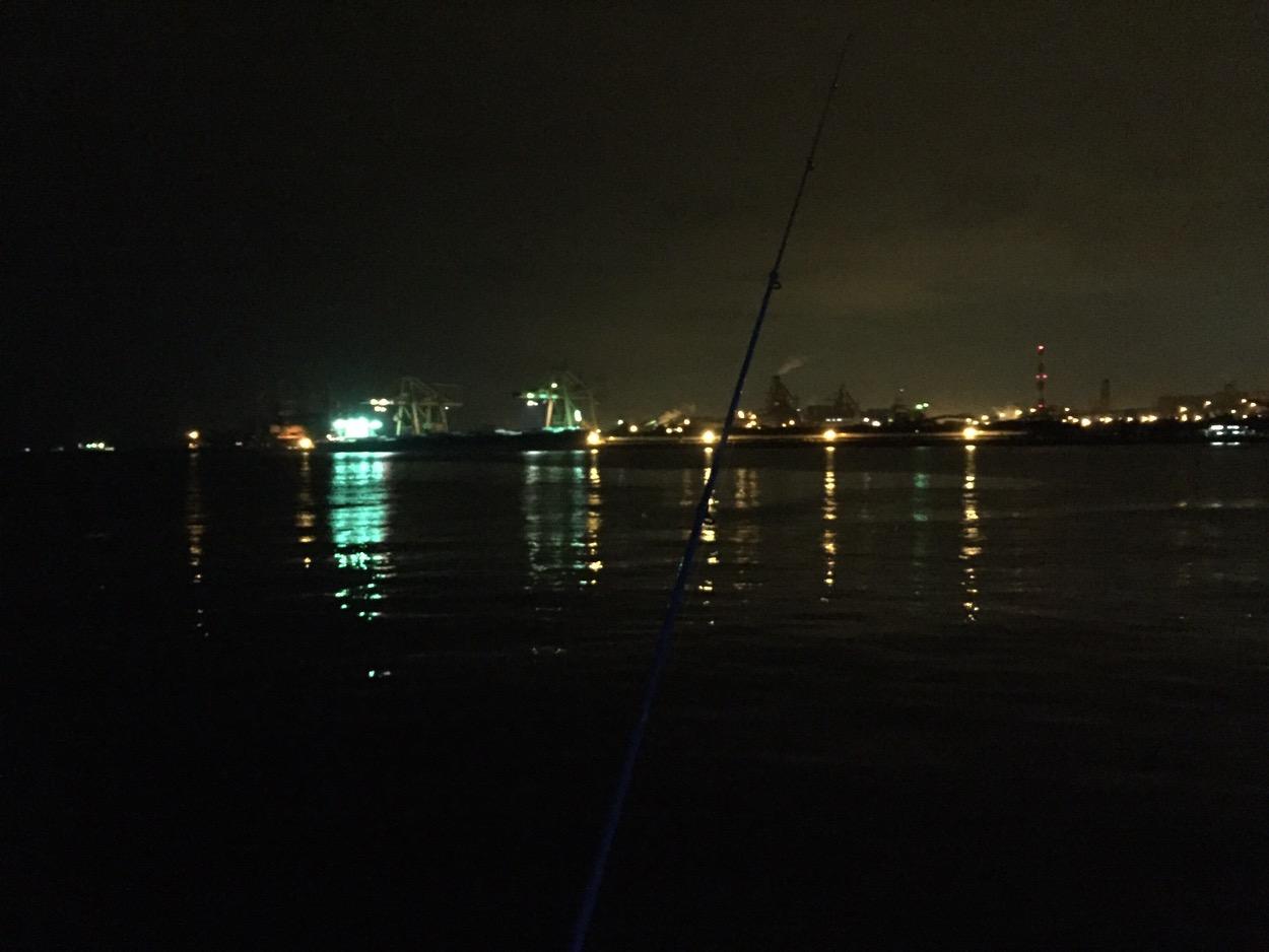 やっぱり釣れない@東扇島西公園